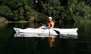 Headwaters Kayak Shop: All-Day Basic Kayak Rental for One or Two from Headwaters Kayak Shop (Up to 50% Off)