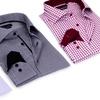 Larry Levine Men's 100% Cotton Dress Shirt