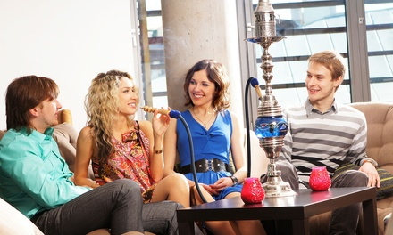 $10.99 for Shisha and Tea Night with Hummus and Dessert for Two at Crazy Joe's Shisha Cafe (Up to $21.46 Value)