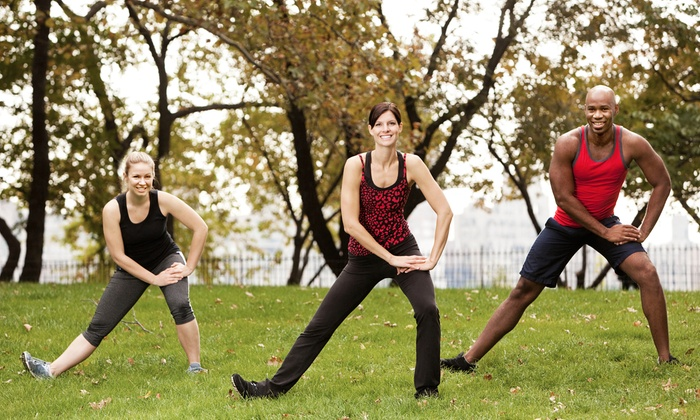 JustFit - Union Park: $54 for One Month of Unlimited Fitness Boot-Camp Classes at JustFit ($250 Value)
