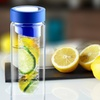 Flavour It Glass Fruit-Infuser Water Bottles (2-Pack)