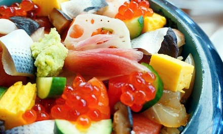 Japanese Lunch or Dinner for Dine-In or Takeout at Hachi (40% Off). Three Options Available.