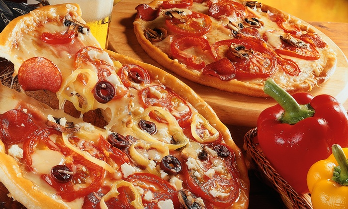The Pizza Press - Disneyland: Two or Four Pizzas with Drinks at The Pizza Press (Up to 53% Off)