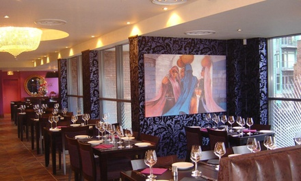 ThreeCourse Indian Meal with Rice or Naan for Two or Four at Mayur