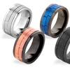 Spinner Rings in Stainless Steel