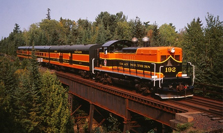 Zephyr Tour or Music and Pizza Train at North Shore Scenic Railroad (Up to 53% Off). Six Options Available.