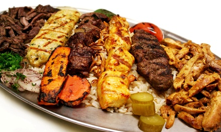 Lebanese Food for Dinner or Lunch at Lebanese Grill (Up to 36% Off). Two Options Available.