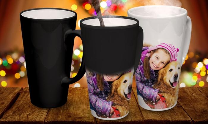 Printerpix: Custom Photo Latte Mug or Magic Mug from by Printerpix