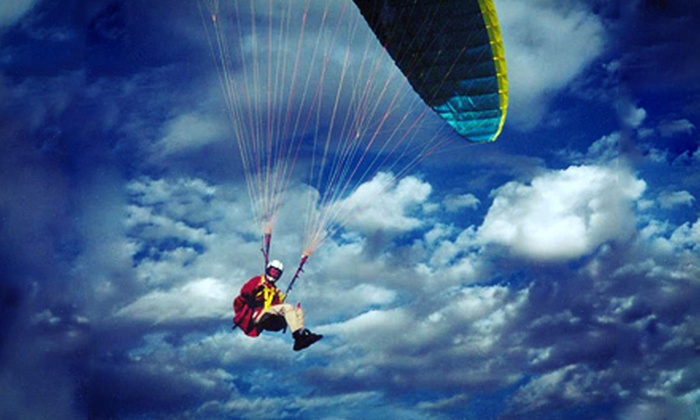 Two-Can Fly Paragliding - Salt Lake City: $55 for a Three-Hour Paragliding Lesson from Two-Can Fly Paragliding ($110 Value)