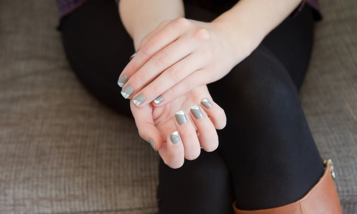EmpeNyx Nail Bar - Tucker: One or Two Manicures and Pedicures at EmpeNyx Nail Bar (Up to 52% Off)
