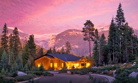 1-Night Stay for Two with Breakfast at Wuksachi Lodge in Sequoia National Park, CA
