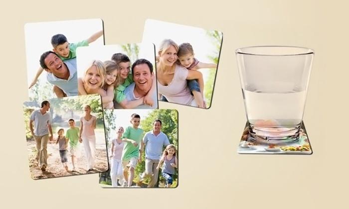 MailPix: $12.99 for a Set of Six Custom Drink Coasters from MailPix.com ($28 Value)