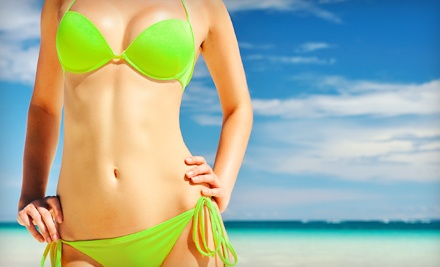 Two or Four Bikini or Brazilian Waxes at Christine's Day Spa (Up to 59% Off)