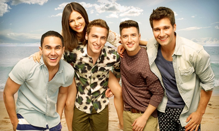 Summer Break Tour: Big Time Rush & Victoria Justice - Landers Center: $20 for Summer Break Tour: Big Time Rush & Victoria Justice at Landers Center on July 2 at 7 p.m. (Up to $48.90 Value)