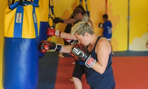 Pure Fitness Martial Arts: Kids or Adult Muay Thai Kickboxing at Pure Fitness Martial Arts (Up to 79% Off). Two Options Available.