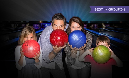 Two Hours of Bowling and Shoe Rental for Two, Four, or Six at AMF Bowling Co. (Up to 59% Off)