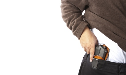 $75 for a Four-Hour Basic or Intermediate Firearms Class from Coup de Main Training ($135 Value)