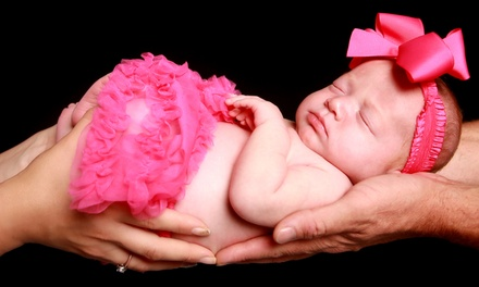 $49 for $350 Worth of Newborn Photo Shoot at Hollywood Photo Studios