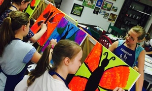 Elm Grove Art: $90 for $150 Worth of Painting & Crafts Summer Camp at Elm Grove Art