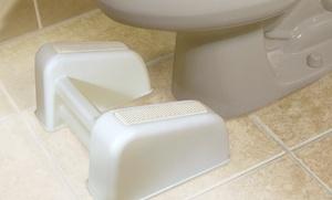 Re-lax Toilet Foot Rest
