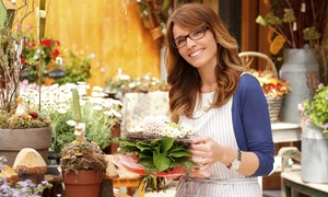 Online City Training: Online Floristry Diploma with Business Startup Training from Online City Training (88% Off)