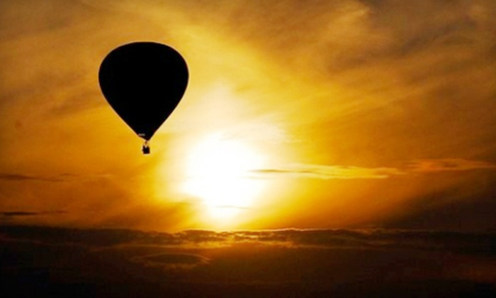 Sonoma Valley Balloons - Santa Rosa: $179 for a Hot Air Balloon Experience with Champagne Toast from Sonoma Valley Balloons in Santa Rosa ($360 Value)