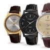 Akribos XXIV Men's Swiss Leather Watch