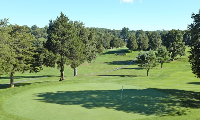 Ould Newbury Golf Club - Rowley:  $30 for 18 Holes of Golf with Cart and $5 Food and Drink Voucher at Ould Newbury Golf Club ($60 Value)