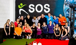 SOS Personal Training: One-Month Unlimited Boot Camp and Gym Access For One (£12) or Two (£20) with SOS Athletic Excellence (Up to 90% Off)