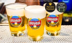 Fita Crepe Bar: Fita Crepe Bar – Alto da Rua XV: 1 Chopp Brahma de 300 ml