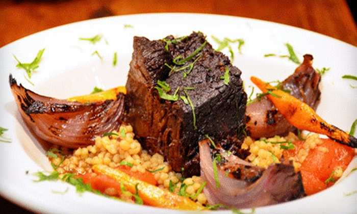 Mezze Place - Astoria: Mediterranean Dinner for Two or Four at Mezze Place (Up to 53% Off)