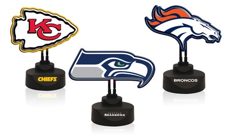 NFL Neon Logo Lamp. Multiple Teams Available. Free Returns.