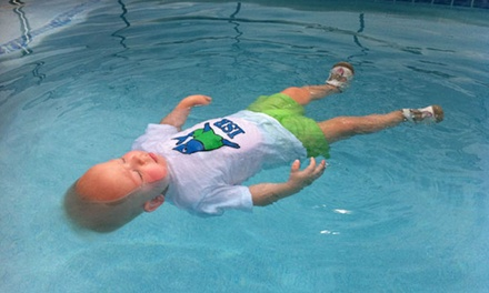 Six Weeks of Private Swim Lessons from Infant Swim Texas (65% Off)