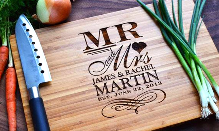 Personalised Chopping Board Groupon Goods
