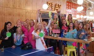 Pips & Bounce: $18 for a One-Hour Ping Pong Table Rental for Four or More People at Pips & Bounce ($29 Value)