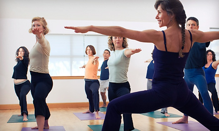 Transcend - Plainfield: 10 or 20 Yoga Classes at Transcend (Up to 84% Off)