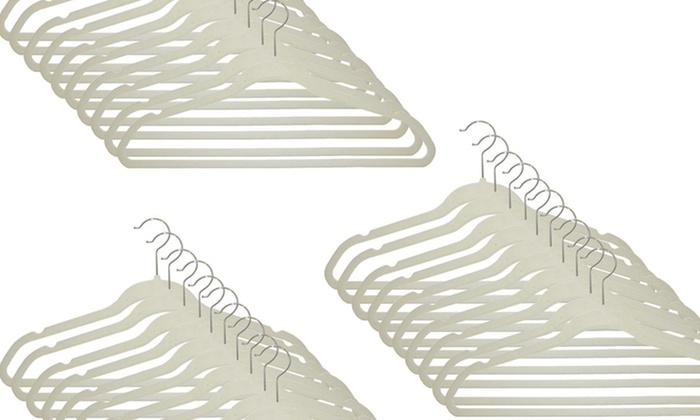 Amazing Closet Complete Ultrathin Velvet Hangers: $26.99 For 50 Closet Complete  Ultrathin Velvet Hangers ($34.99 ...