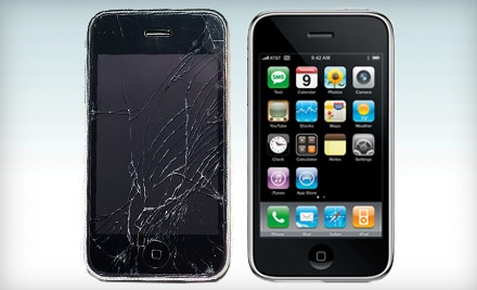 iPhone or iPad Screen Repairs, or Cell-Phone Repairs at Desert Wireless (Up to 63% Off). Four Options Available.
