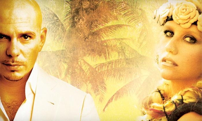 Pitbull and Ke$ha - Atlantic City: Pitbull and Ke$ha at Golden Nugget on Saturday, May 25 or Sunday, May 26, at 8 p.m. (Up to 72% Off)
