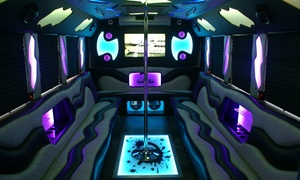 Spudnik Ride: Up to 56% Off Party Bus Pick-Up and Drop-Off Service at Spudnik Ride
