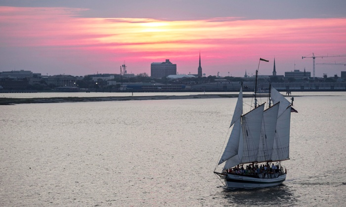 Charleston Harbor Tours - Multiple Locations: Charleston Harbor Tour or Dolphin Tour at Charleston Harbor Tours (Up to 48% Off). Two Options Available.