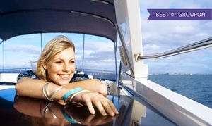 Sand Dollar Charters: $199 for a Full-Day Pontoon-Boat Rental for Up to 10 People from Sand Dollar Charters ($350 Value)