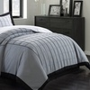Alyssa Embroidered Pintuck 3-Piece Duvet Cover Set