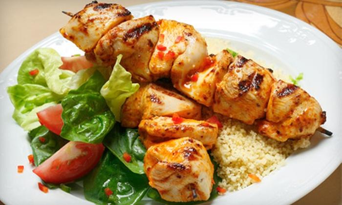 Taste of Tunisia - Van Ness - Forest Hills: Tunisian Cuisine at Taste of Tunisia (Half Off). Two Options Available.