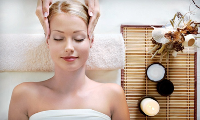 The Spa at Ravella at Lake Las Vegas - Lake Las Vegas: Massage or Facial, or Massage and Facial with Optional Pedicure at The Spa at Ravella at Lake Las Vegas (Up to 49% Off)