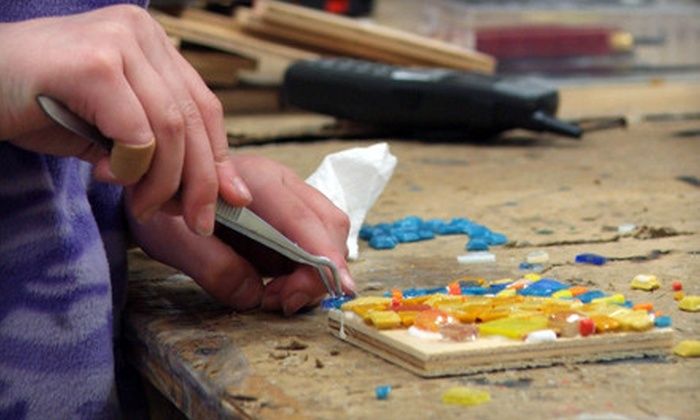 Glass Mosaic Canada - Toronto (GTA): One, Two, or Four Summer Art Workshops for Children at Glass Mosaic Canada (Up to 58% Off)