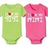 I Heart My Grandparents Infant Bodysuits