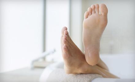1 Callus Treatment on Both Feet (a $190 value) - Alvera Podiatry Group in Encinitas