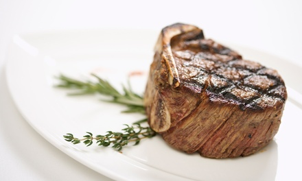 Steakhouse Lunch or Dinner at Stone Manor 101 (Up to 50% Off)