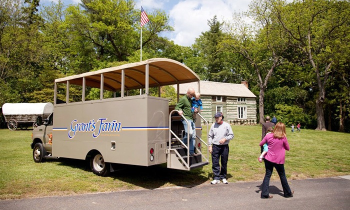 Grant's Farm - Saint Louis: $129 for a Private Expedition Tour for Up to 12 People at Grant's Farm ($215 Value)
